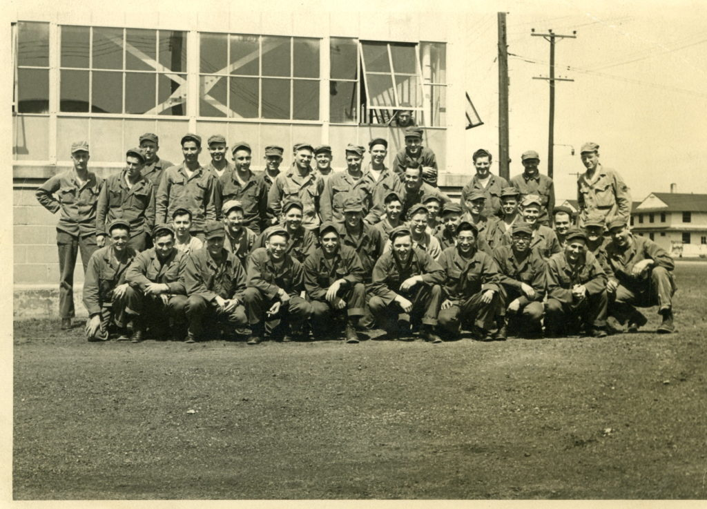 Photo of guys in Army during the Korean War