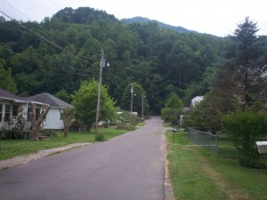 A Road in Benham, Kentucky