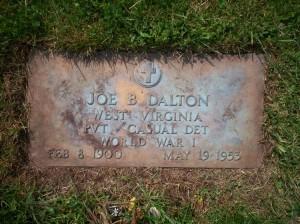 Joe Dalton Gravestone