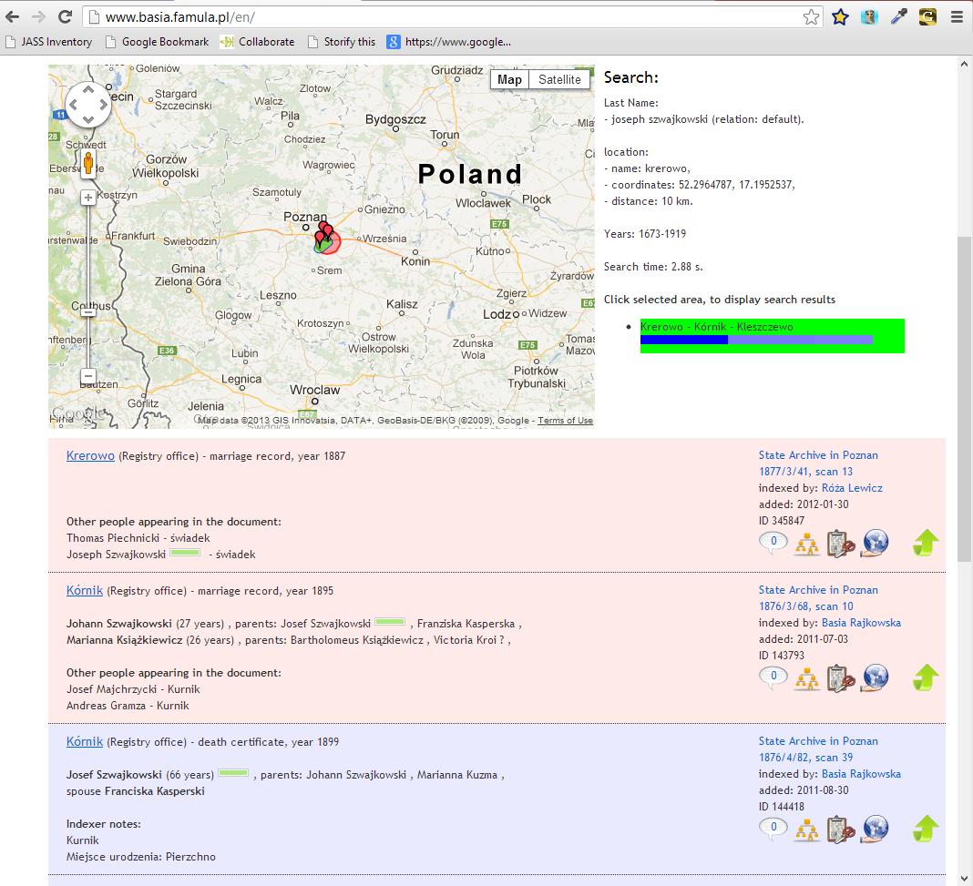 Basia Site Search Results for Joseph Szwajkowski